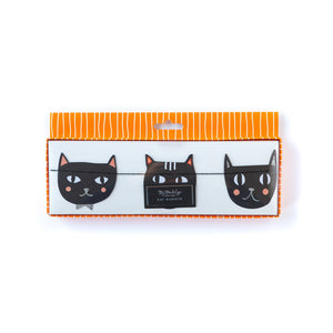 Halloween Black Cat Paper Garland