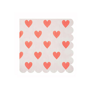 Heart Large Napkins