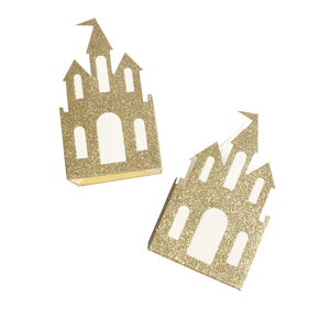 Princess Castle Favor Boxes - 8 Pack