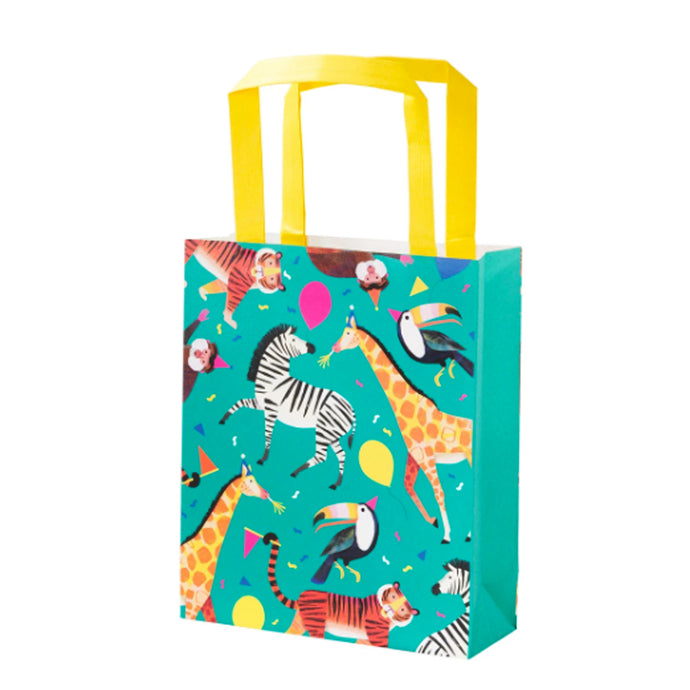 Party Animals Loot Bags - 8 Pack