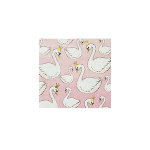Swan Small Paper Napkins