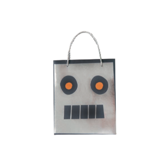 Robot Party Loot Bags - 8 Pack