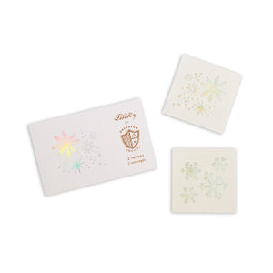 Frosted Snowflakes Temporary Tattoos