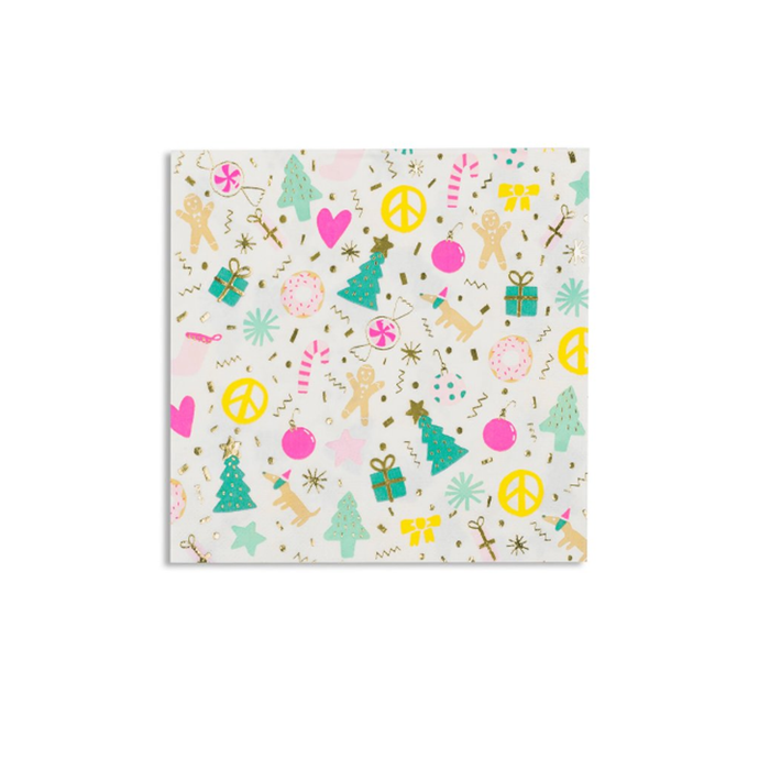 Merry + Bright Large Paper Napkins