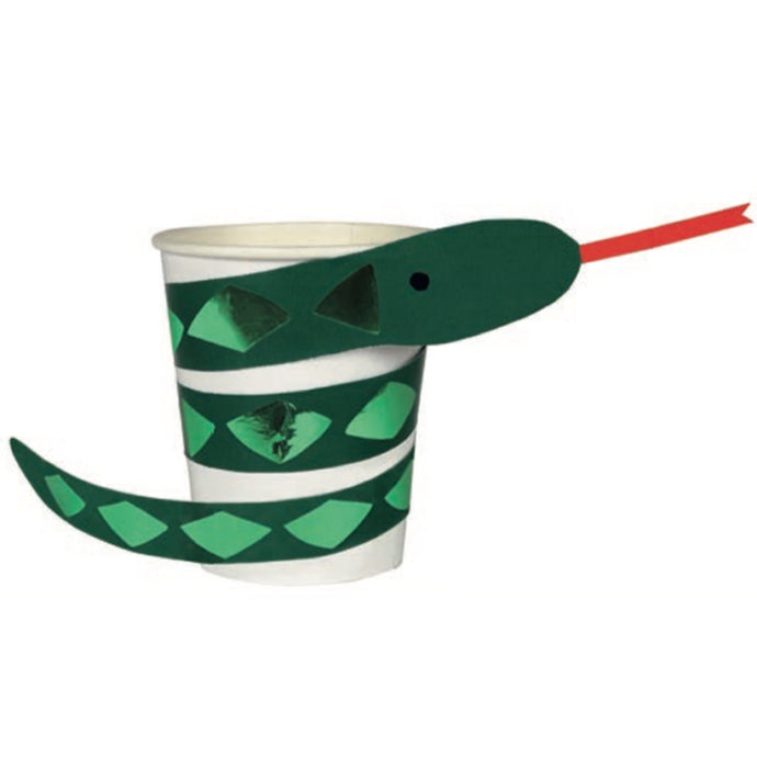 Snake Paper Cups