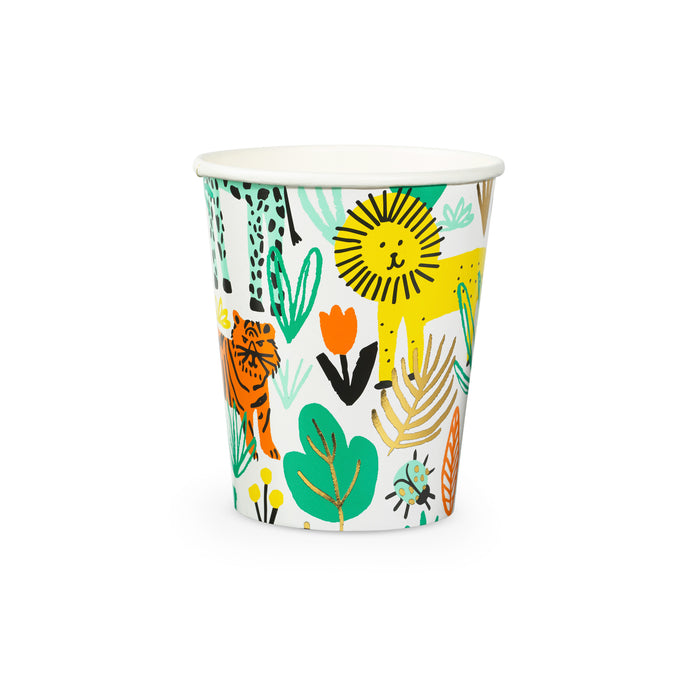 Into The Wild Paper Cups - 8 Pack