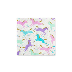 Magical Unicorns Large Napkins - 16 Napkins