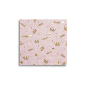 Swan Princess Large Napkins - 16 Pack