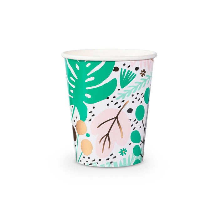 Tropicale Paper Cups - 8 Pack