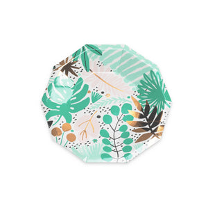 Tropicale Small Paper Plates - 8 Pack