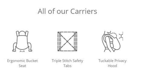 Additional Features of the Baby Carrier