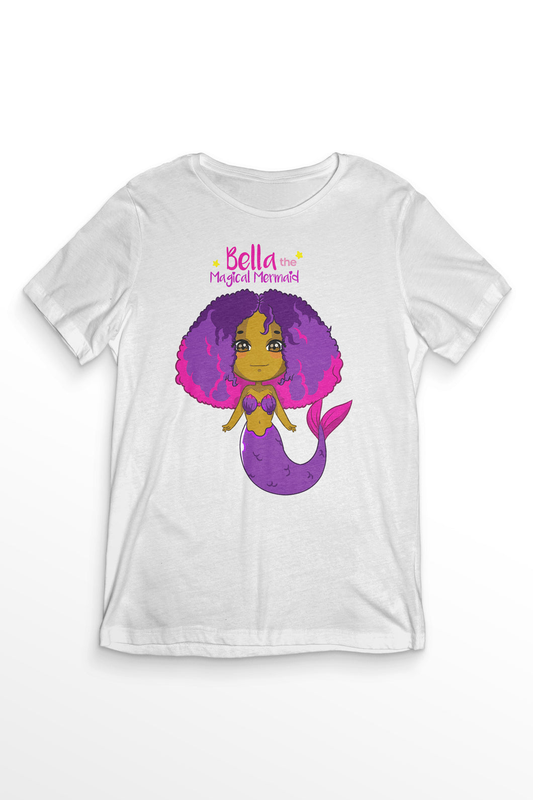 Bella The Magical Mermaid - Short Sleeve Tshirt