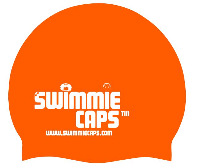 NEW Swimmie Caps - Orange