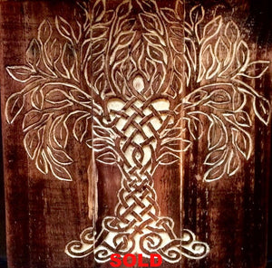 Tree of Life Carving - Relentless Crafting