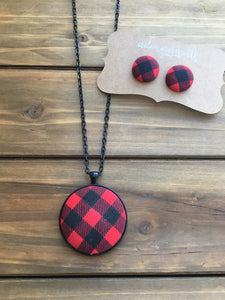 Buffalo Plaid- Red