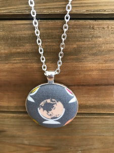 Globe Necklace- More Colors Available!