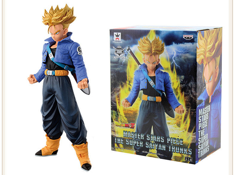 Figurine Dragon ball Z - Trunks super saiyan 19 cm