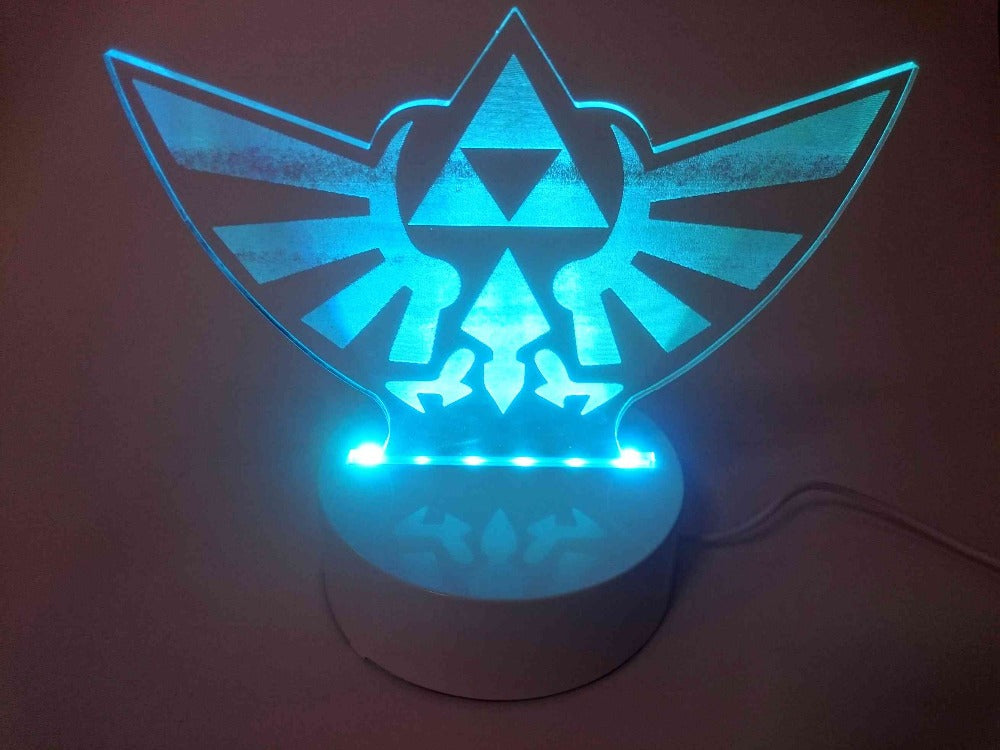 3D LED light The Legend of Zelda