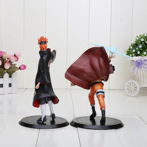 Lot de 2 figurines - Naruto mode seinin et Pain 18 cm