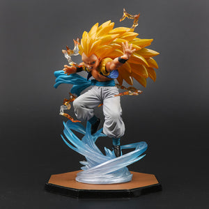 Figurine Dragon Ball Z - Gotenks super saiyan 3 16CM