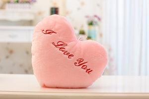 "Peluche kawaii ""I love you"" 38x35 cm"