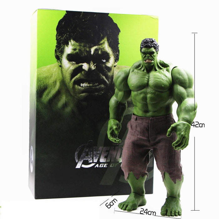 Figurine Marvel Avengers - L'incroyable Hulk 42CM