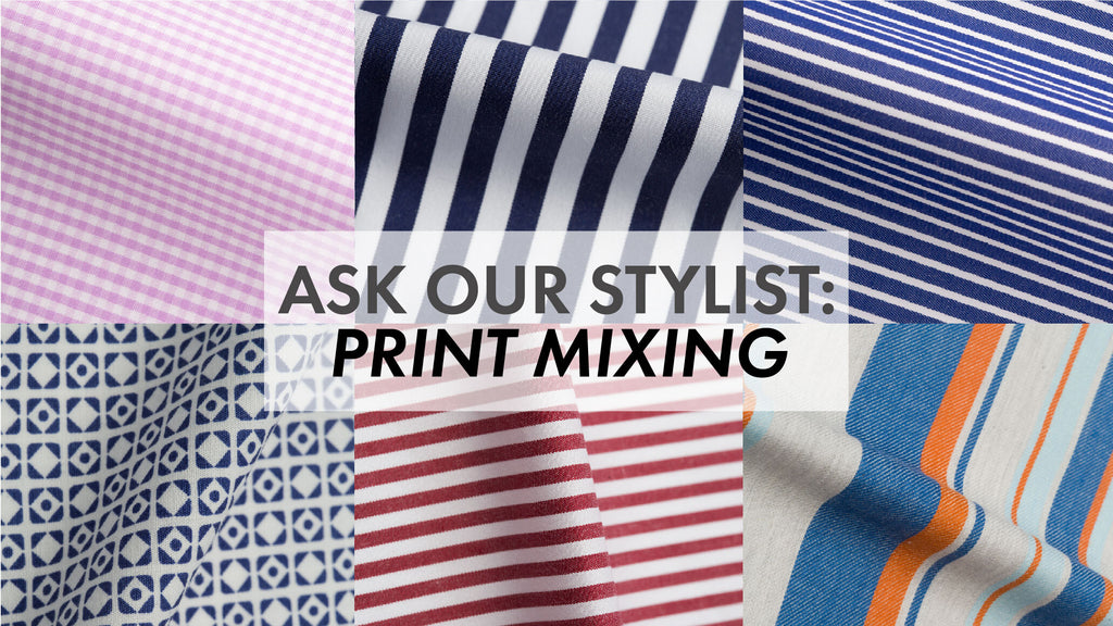 Ask Our Stylist: Is It Ok To Clash Prints and Patterns?