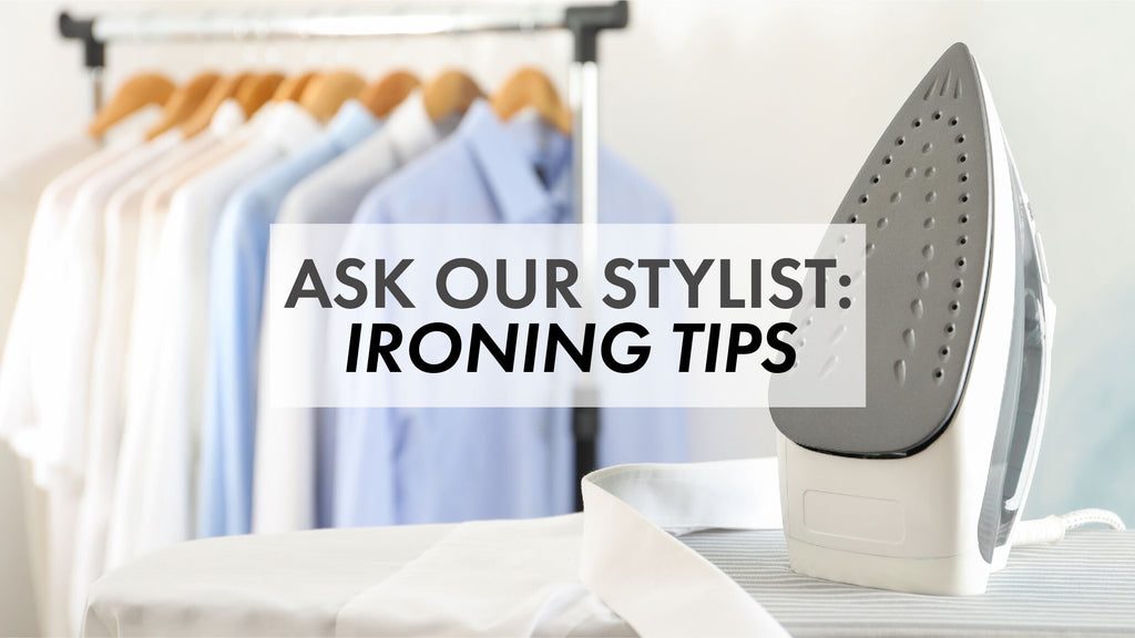 Ask Our Stylist: How to Properly Iron Your Shirt