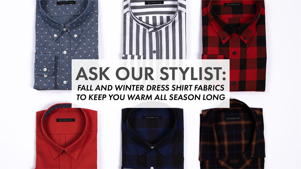 Fall And Winter Dress Shirt Fabrics To Keep You Warm All Season Long