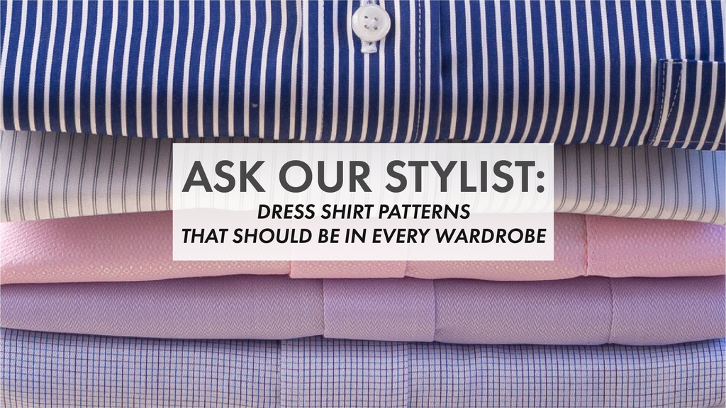 Dress Shirt Patterns That Should Be in Every Wardrobe