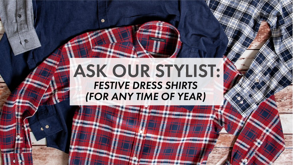 Festive Dress Shirts for Anytime of Year