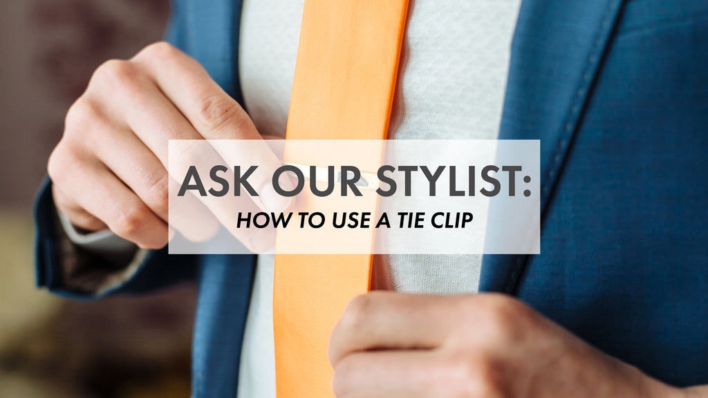 What is a tie clip? How does a tie clip work?
