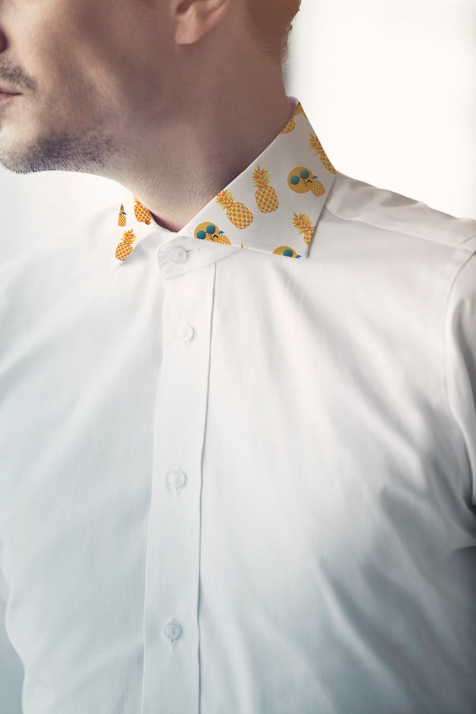 Are Men's Dress Shirts An Appropriate Place For Emoji Faces?