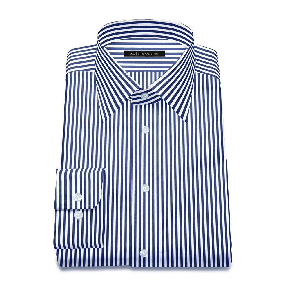 Even Striped: Navy Blue