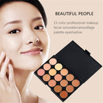 15 colors Concealer Makeup Palatte