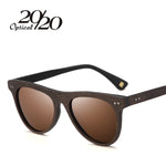 20/20 Brand Retro Polarized Women Sunglasses  Wooden