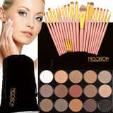 Exclusive!!! 15 Colors eyeshadow plus 20 pcs Make up brushes (all included)