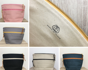 Pearadise Island Zipper Project Bags