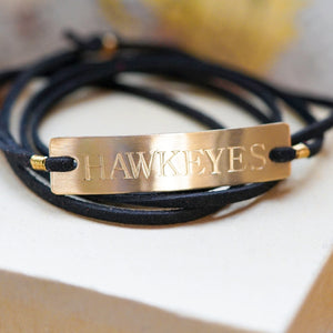Iowa Hawkeyes Bracelet - IF Only Pretty LLC
