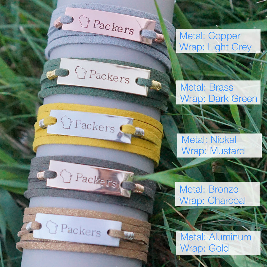 Packers Wrap Bracelet