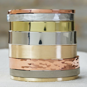 Plain Cuff Bracelet - IF Only Pretty LLC