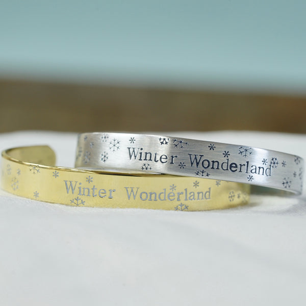 Winter Wonderland Cuff Bracelet - IF Only Pretty LLC