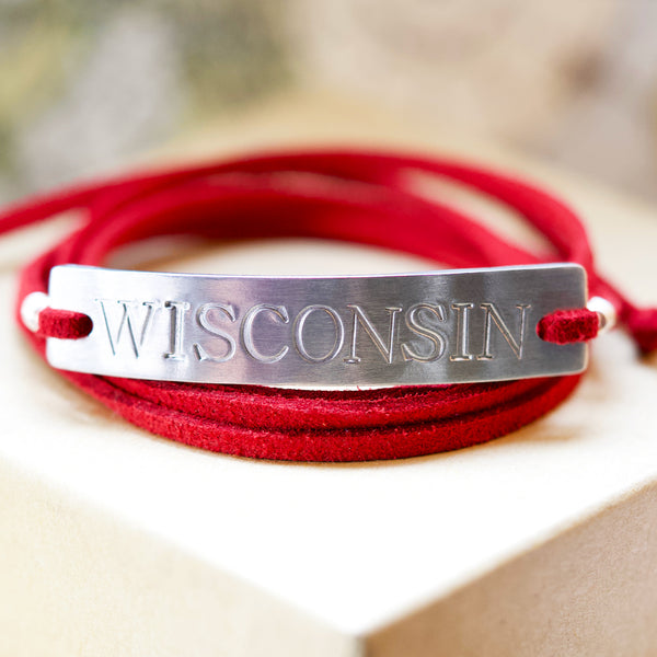 Wisconsin Bracelet - IF Only Pretty LLC
