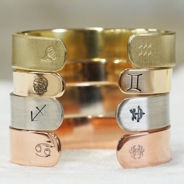 Zodiac Cuff Bracelet - IF Only Pretty LLC