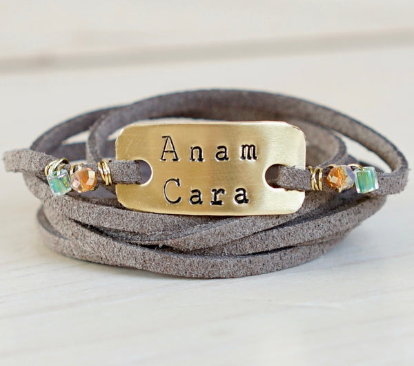 Anam Cara Wrap Bracelet - IF Only Pretty LLC