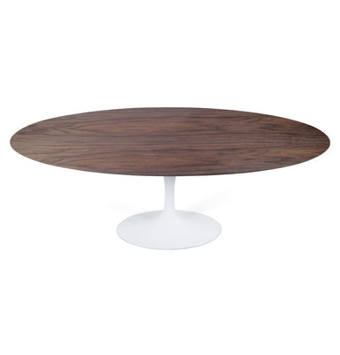 Tulip Dining Table - Oval - Walnut/White Oak/Ash Top - Reproduction
