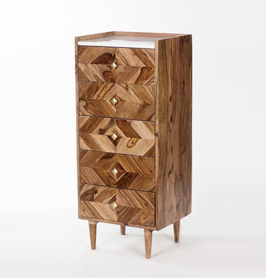 Abha 5-Drawer Tallboy
