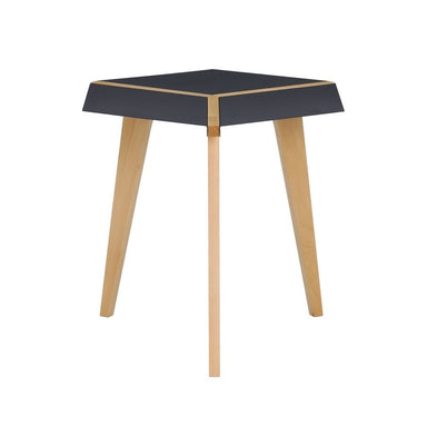 Birch Hexagon Side Table