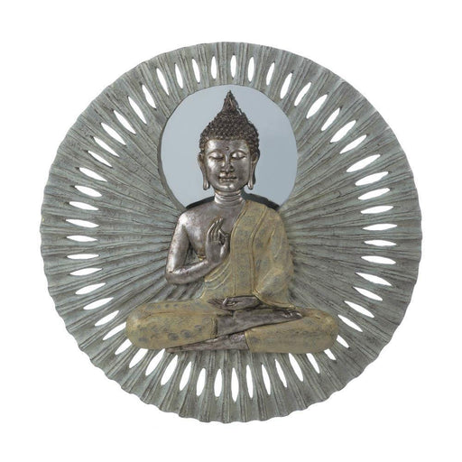 Buddha Circular Wall Decor Home Decor Humbly Nobly