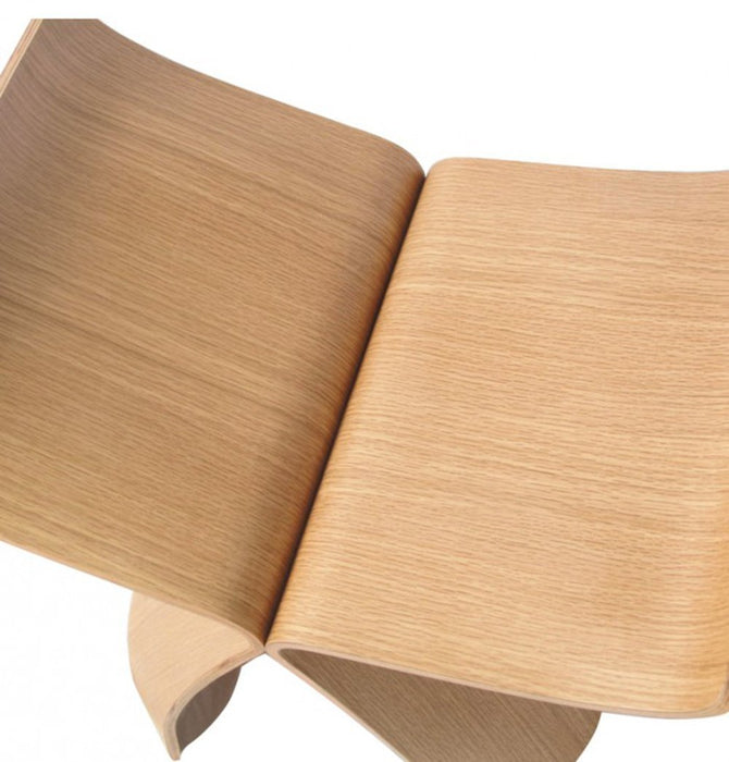Butterfly Stool - White Oak - Reproduction